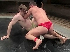 NakedKombat Colby Keller vs Dakota Rivers The Mud Match