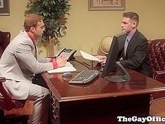Gay senator nails hunk who wants bill passed