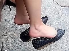 Sexy double flat dangle