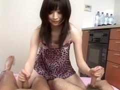 Fabulous Japanese slut Asuka Mimi in Incredible JAV uncensored Group Sex video