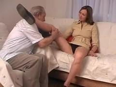 Russian Older Man junior Girl