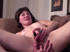 Amateur American mother with hairy pussy