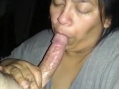 Latin maid sucks my dick. she wants her greencard bad !!!