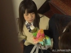 Beautiful Asian schoolgirl gets amazing sex experience