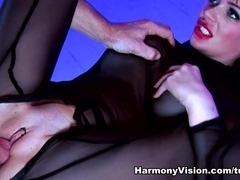 Claudia Rossi & Ree Petra in Their Bad Sex Slave - HarmonyVision