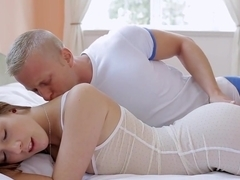 Cute Euro girl Alexis gets fucked