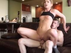 Olivia Lee in Athletic Babe has Anal Sex - LetsTryAnal
