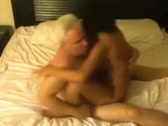 Streetslut has sex with an old man