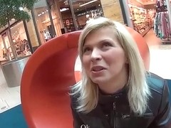 MALLCUTIES Nice blonde czech girl with big tits