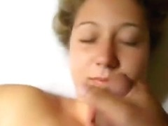 Crazy Homemade clip with Facial, POV scenes