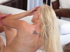 Hottest pornstar Kara Stone in Horny Interracial, Blonde adult scene