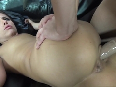 Amazing pornstars David Loso, Adriana Chechik in Horny College, Brunette xxx scene