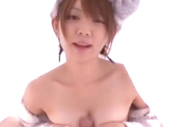 Incredible Japanese model Mayu Nozomi in Hottest Blowjob/Fera JAV clip