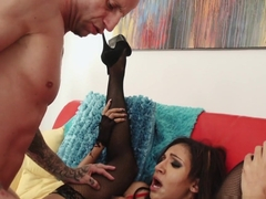 Hottest pornstars Barry Scott, Sadie Santana in Incredible MILF, Anal xxx clip