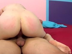 Beautiful young nympho Penny Stiles gets her honey hole drilled deep