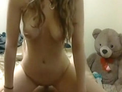Crazy amateur doggystyle, curly hair, hardcore adult clip