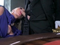 Nasty service man Johnny Sins penetrates Abbey Brooks