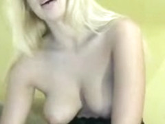British blonde milf Jane Bond solo masturbation