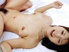 Incredible Japanese girl Azumi Harusaki in Exotic JAV uncensored Facial movie
