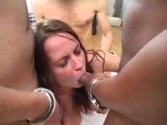 Busty Scottish Girl Gets Gangbanged - Cireman