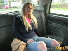 Sexy Sienna takes a free dick ride on a taxi hardcore