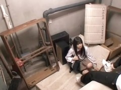 Jap babe gives a masterful blowjob on hidden camera
