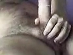 Homemade clip with my juggy wife sucking and titfucking my cock