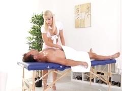 Fabulous pornstar in Incredible Blowjob, Blonde sex video