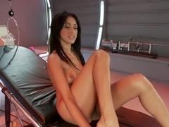 Amazing fetish xxx movie with best pornstar Breanne Benson from Fuckingmachines