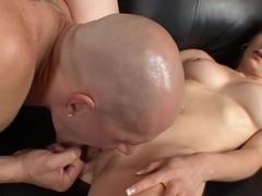 Horny pornstar Sunset Diamond in crazy hairy, cunnilingus adult movie