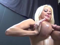 Exotic pornstar Nikita Von James in Amazing Blonde, Stockings porn clip