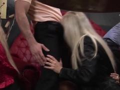 Amazing pornstar in incredible group sex, european xxx clip