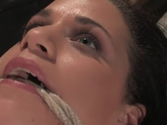 Hottest fetish sex clip with best pornstar Mia Bangg from Waterbondage