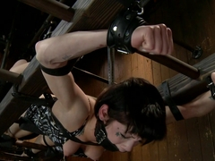 Dark and Sultry Asphyxia Noir Gets Her Pain Limits Put To The Test
