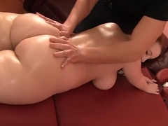 Exotic pornstar Felicia Clover in horny cunnilingus, facial xxx scene