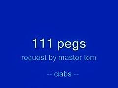 111 pegs