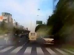 White wazoo screwed by Dark ding-dong in back of van