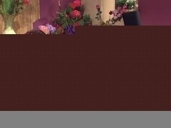 Hot sex in a flower shop