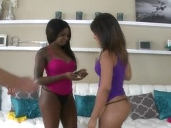 Leilani Leeane and Tatiyana Foxx tempt Romeo Price