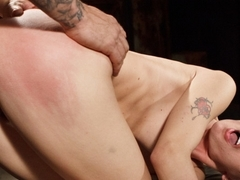 Best fetish adult movie with horny pornstars Natasha Starr and Derrick Pierce from Dungeonsex