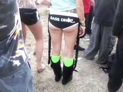 Festival Slut With Great Ass