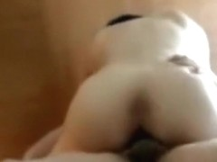Cute asian girl has oral, cowgirl and missionary sex.