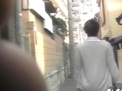 Nurse with the hot ass skirt sharked on the street in public