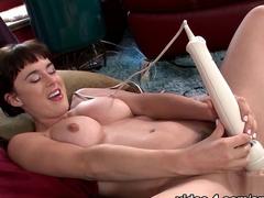 Horny pornstar in Incredible Big Tits, Fucking Machines porn scene