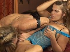 Amazing pornstars Heather Silk, Porsche Lynn in Hottest Stockings, Lesbian porn clip