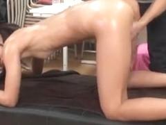 Amazing Japanese chick Megumi Shino, Yuka Minase, Akira Matsushita in Crazy JAV clip