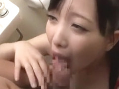 Horny Japanese slut Tomoka Kuriyama, Mao Mizusawa, Maomi Nagasawa in Incredible Blowjob/Fera, Cens.