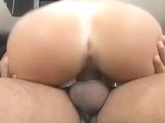 Thaina Perez's Perky Tits Bounce For Loupan