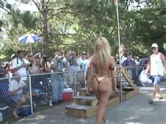 Best pornstar in fabulous blonde, striptease xxx scene