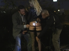Amazing pornstar in exotic gangbang, blonde porn movie